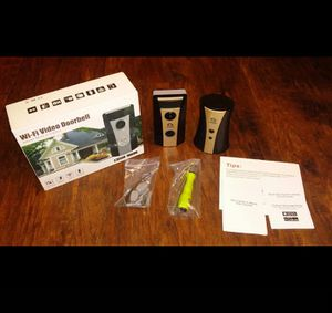 Brand New WoHome WiFi Video Doorbell for Sale in Martinsburg, WV