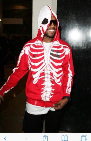 Deadstock Lrg Dead Serious Skeleton Hoodie Yeezy For Sale In