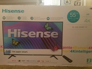 New still in the box hisense smart TV 55'and slightly used 50' hisense smart TV for Sale in Hyattsville, MD