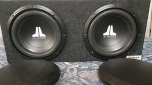 Photo 2 JL AUDIO 10 INCH SUBWOOFER & BOX
