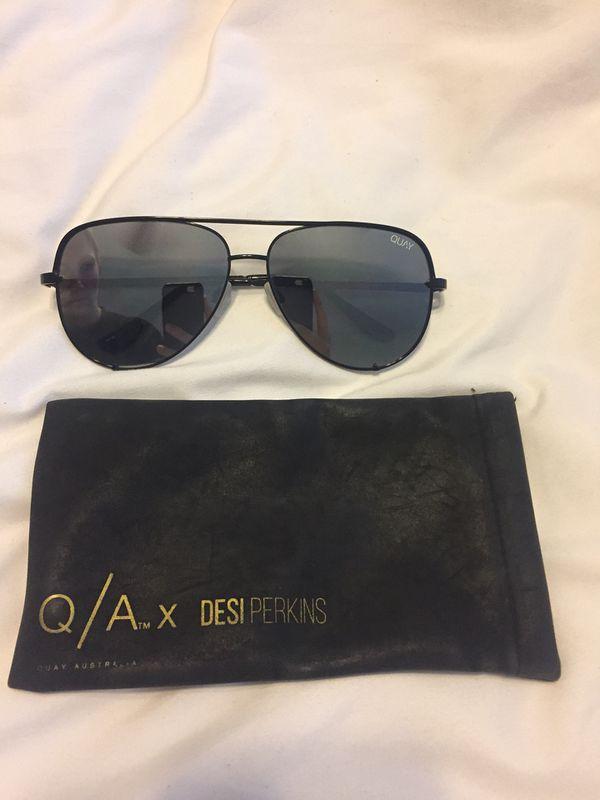54f71817afbf4 Quay x Desi Perkins - black high key sunglasses for Sale in San ...
