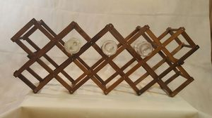 Antique wood wine rack for Sale in Martinsburg, WV