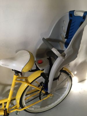 8676716e64e Bright yellow beach cruiser Schwinn bike with removable infant seat for  Sale in Portland, OR - OfferUp