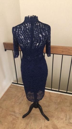 Navy express lace dress size 12 for Sale in Baltimore, MD