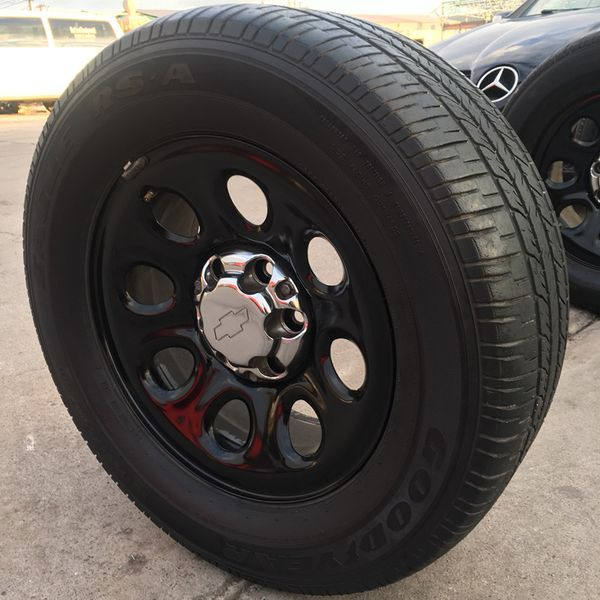 "CHEVY TAHOE POLICE PPV HD 17"" WHEELS & TIRES for Sale in Phoenix, AZ -  OfferUp"