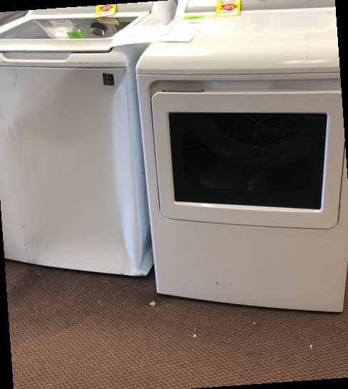 Ge Washer And Dryer Set UV