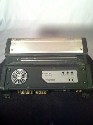Kenwood 2 channel bridgable 1000 watt amplifier for Sale in Fort Washington, MD
