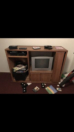 Free entertainment center for Sale in Salt Lake City, UT