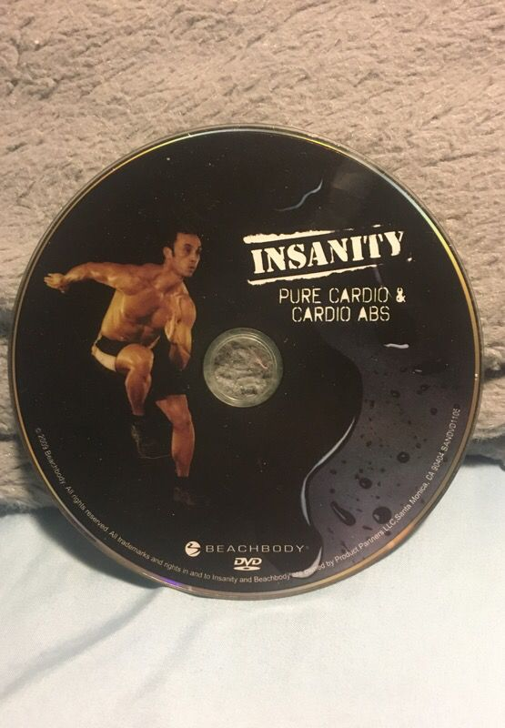 Beachbody Insanity Pure Cardio & Cardio Abs DVD for Sale in Tacoma, WA -  OfferUp