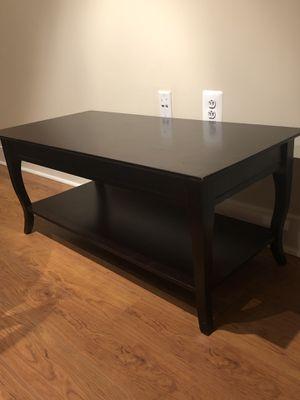 Coffee Table - Espresso Color for Sale in Washington, DC