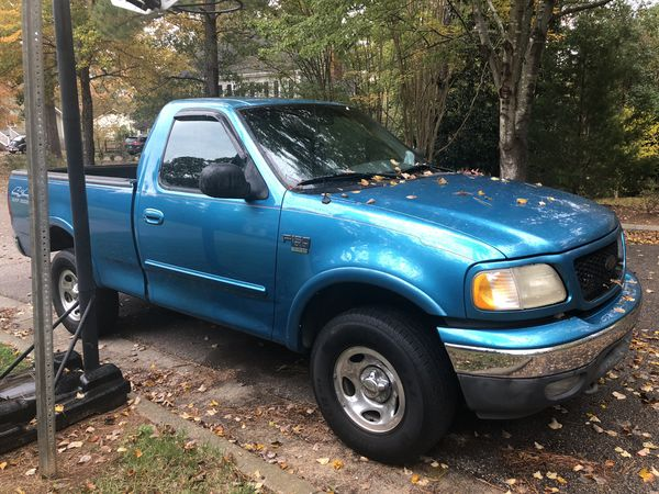 99 Ford F 150 Xlt Single Cab Short Bed 4x4 V8 For Sale In Raleigh
