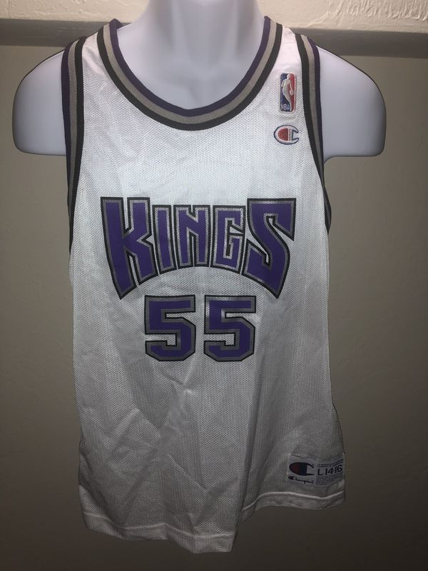 brand new aa646 ad914 New Vintage champion Sacramento Kings Jason Williams 55 Jersey Rare Size  Youth large 14-16 for Sale in Oakland, CA - OfferUp