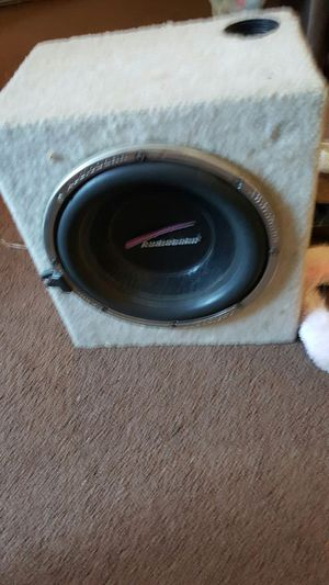 10 Audiobahn AW1051T Natural Sound Subwoofer 25cm 300W RMS
