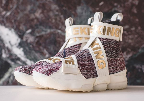 finest selection 1b643 7834a KITH x LeBron 15 Lifestyle Stained Glass size 8.5