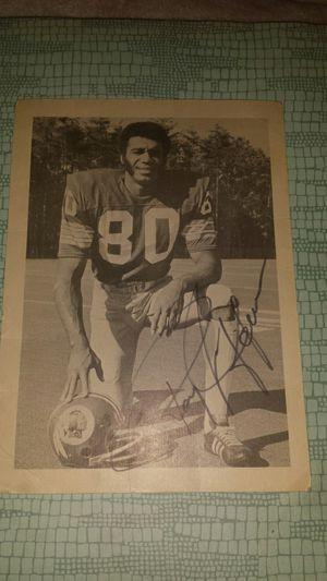 Washington Redskins Autographed Potrait for Sale in Fairfax, VA