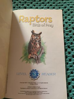 Book, Raptors Birds Of Prey Thumbnail