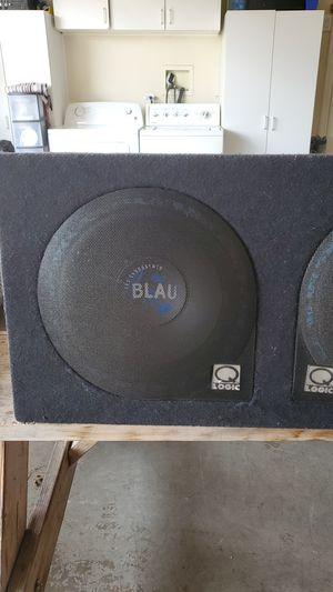 Photo Blaupunk 12 inch sub Q-logic box