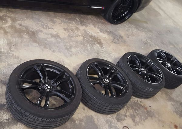 Bmw Rims Used Bmw Original 20 X 10 Rear Front 8 1 2 Tires
