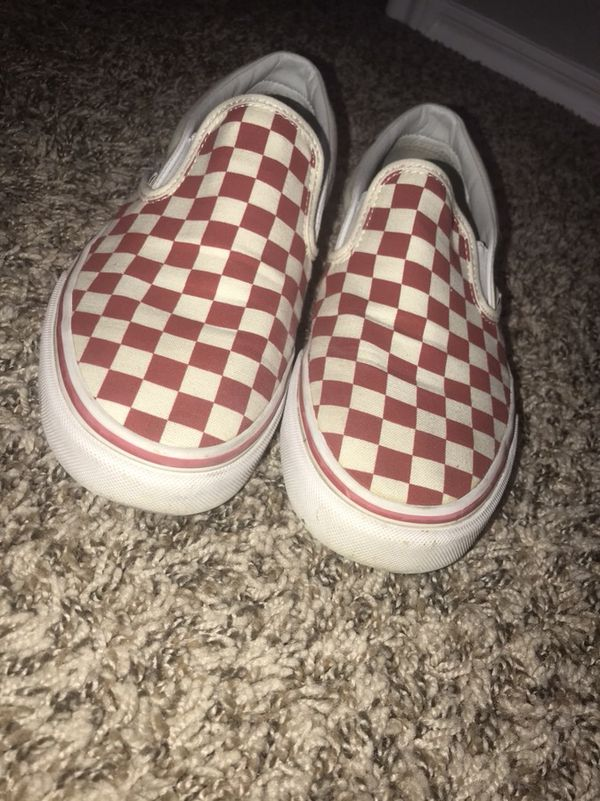 9bf4d3c4646 red vans SIZE 8 MENS  9.5 WOMENS (Clothing   Shoes) in Deer Park