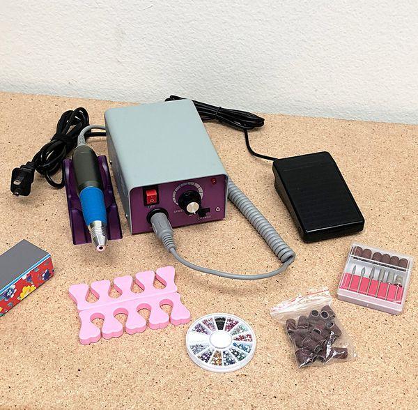 New 30 Salon Pro Manicure Tool Pedicure Electric Drill File Nail