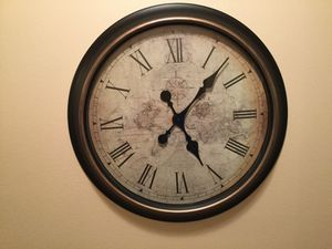 Photo World Market Large Wall Clock