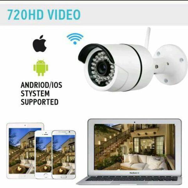 HD cloud i p I smart veiw pro mega pixel waterproof security camera for  Sale in Pinellas Park, FL - OfferUp