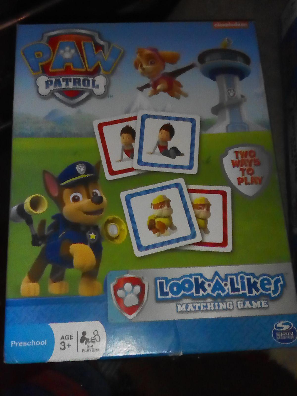 Paw patrol games