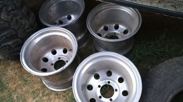 Used Mud Tires For Sale >> 15x14 ALCOA RIMS EXTREMELY RARE for Sale in Baldwin Park ...