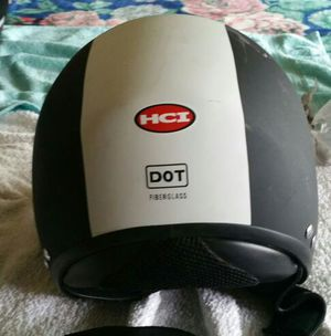 HCI Open Face Fiberglass Motorcycle Helmet for Sale in Seattle, WA