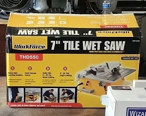 Workforce 7 inch tile saw new for Sale in Orlando, FL