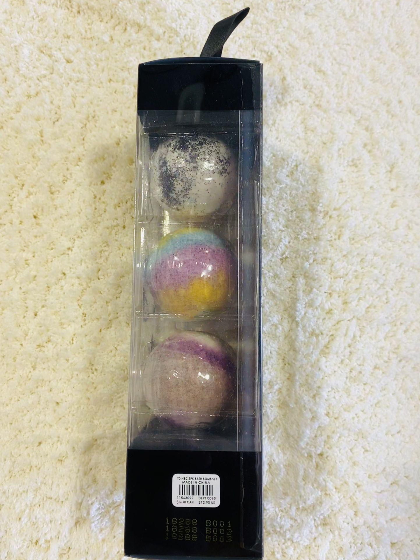 Bath Bombs, Set Of 3