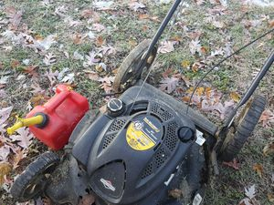 Lawn mower and gas can for Sale in Sappington, MO