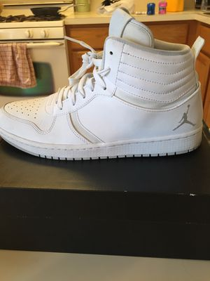 Jordan 1 white for Sale in Odenton, MD