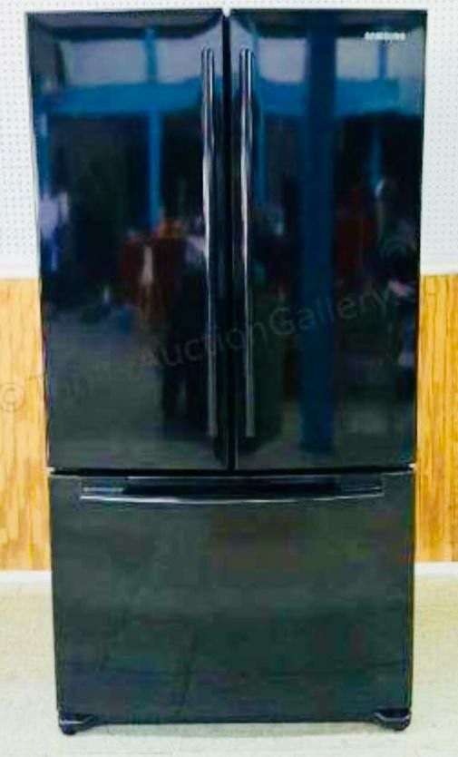 Black Samsung French Door Refrigerator Price Is Firm For Sale In