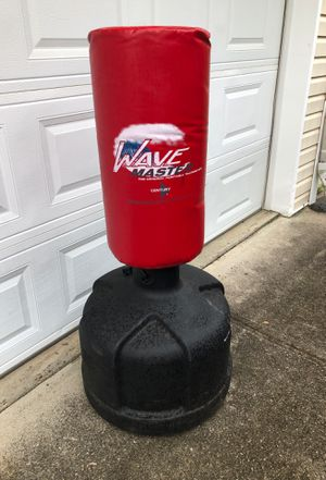 Photo Century Wave Master portable training bag. Fitness and martial arts