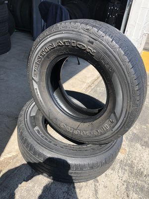 Photo 2 Firestone tires size:235/75/15
