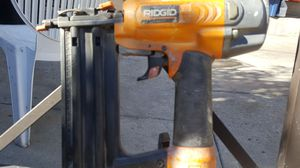 ridgid. nail gun for Sale in Los Angeles, CA