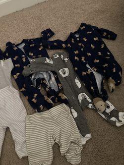 PREMIE BABY BOY CLOTHES Thumbnail