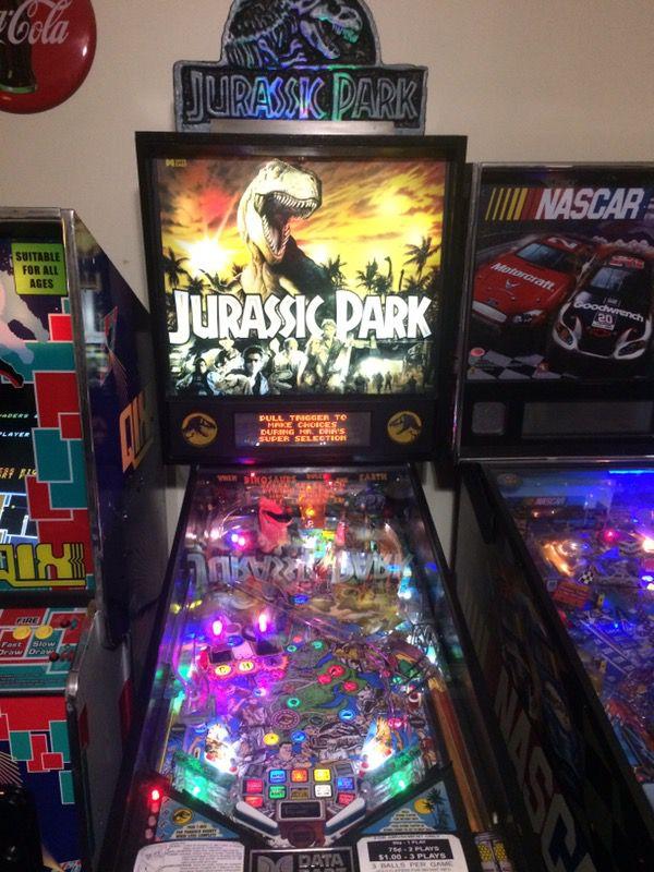Jurassic Park Pinball Machine for Sale in Memphis, TN - OfferUp