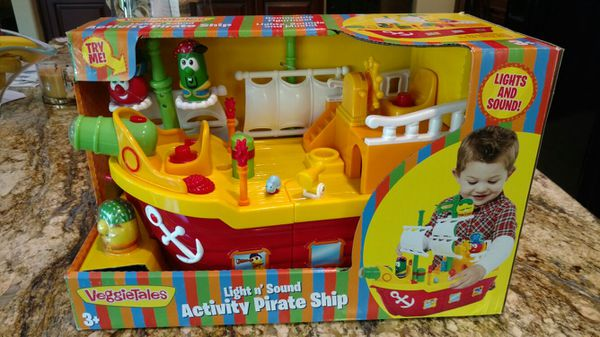 Pirate Ship By Veggietales Light Nsound Activity For Sale In
