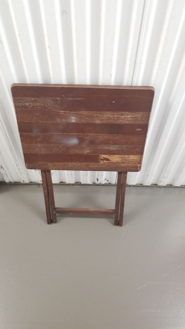 small wooden folding table for sale in hollywood fl  offerup