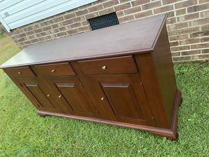 VERY NICE DRESSER real wood cedros for Sale in Four Oaks, NC