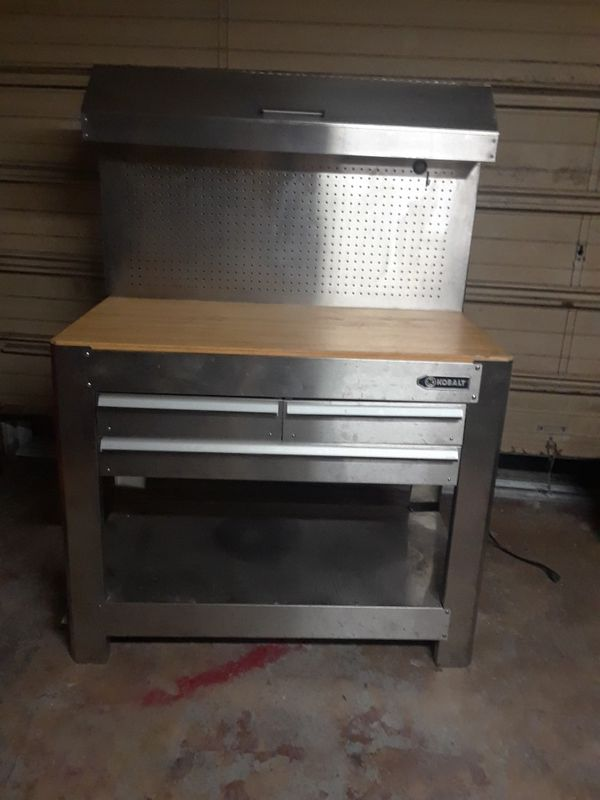 Prime Kobalt Workbench For Sale In Holiday Fl Offerup Spiritservingveterans Wood Chair Design Ideas Spiritservingveteransorg