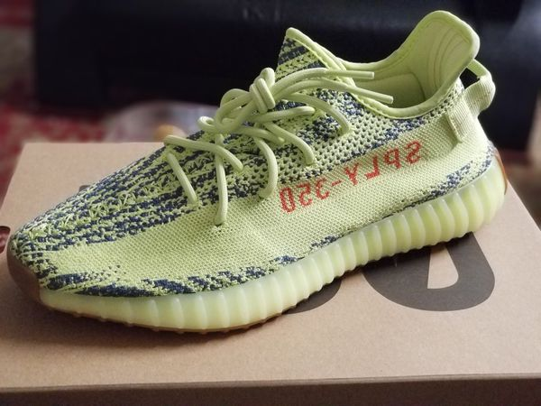 2e4a6f1232b Adidas Yeezy boost 350 V2 semi frozen yellow US 10.5 for Sale in ...