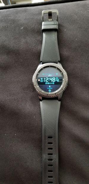 Samsung gear s3 frontier for Sale in Manassas, VA