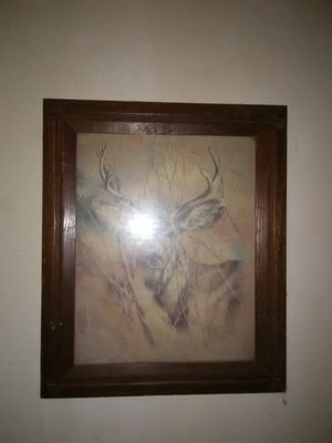 Buck painting for Sale in Pittsburgh, PA
