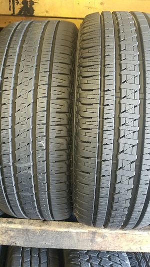 two good Bridgestone tires for sale 235/55/18 for Sale in Washington, DC