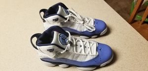 Air Jordan 6 Rings GG Youth 6.5/Women's 8 UNC Navy Blue for Sale in Frederick, MD