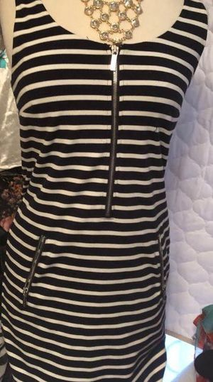MICHAEL KORS Striped Zip Front mini W Po for Sale in Henderson, NC