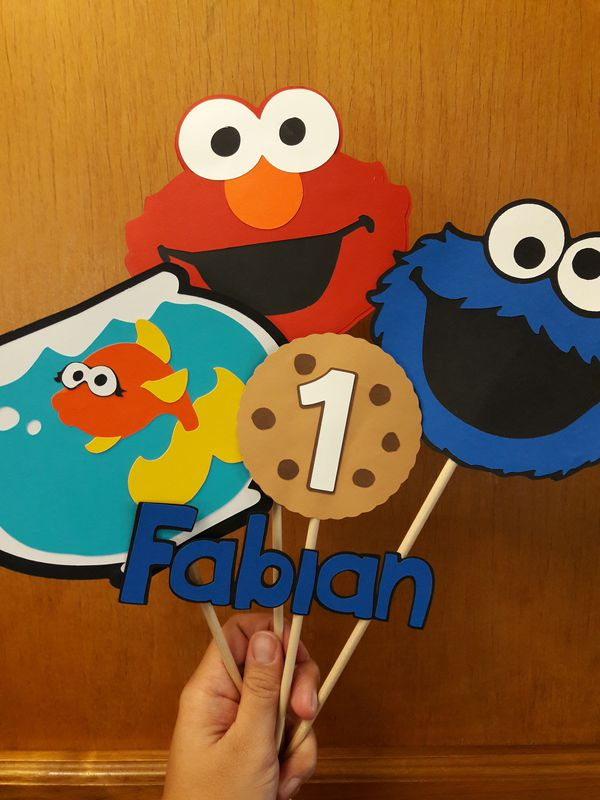 Elmo And Cookie Monster Party Decorations For Sale In Fresno Ca Offerup